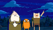 S7e21 ice king, finn, jake near lava