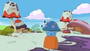 Adventure Time Pirates of the Enchiridion Mushroom people on Mushroom Island