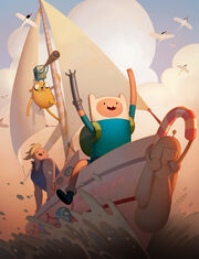 Adventure Time Islands Cover Art