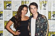 Olivia Olson AT Comic Con with Jeremy Shada