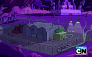 S8e4 Candy Kingdom space facility