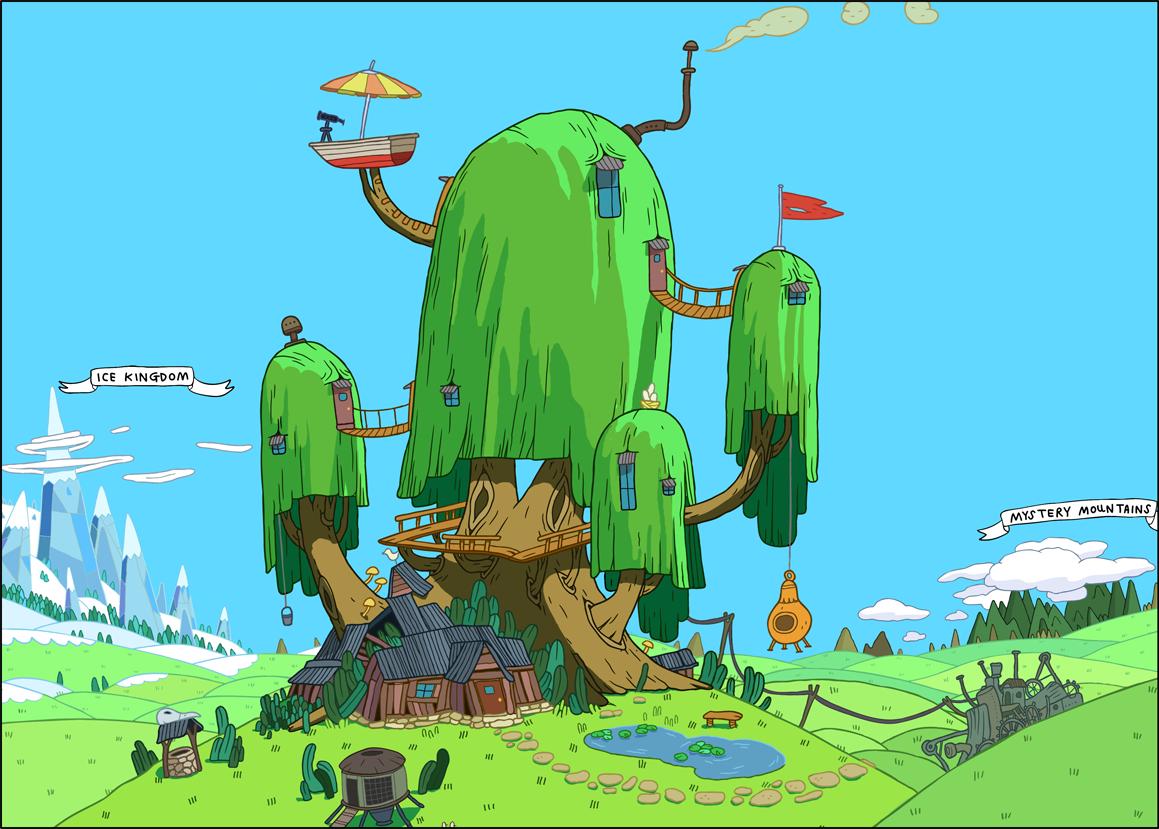 Tree Fort Adventure Time Wiki Fandom Powered By Wikia