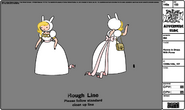 Modelsheet fionna indress withpurse