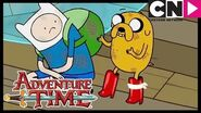 Adventure Time City of Thieves Stealing Boots! Cartoon Network