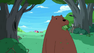S4 E7 Bear eating plants