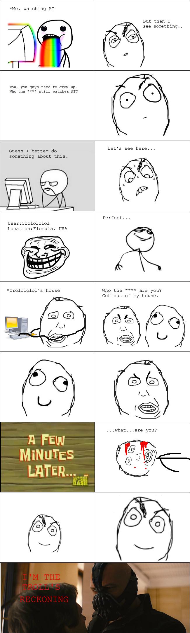 Troll's reckoning