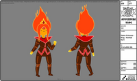 Modelsheet flameprincess king normaleyes