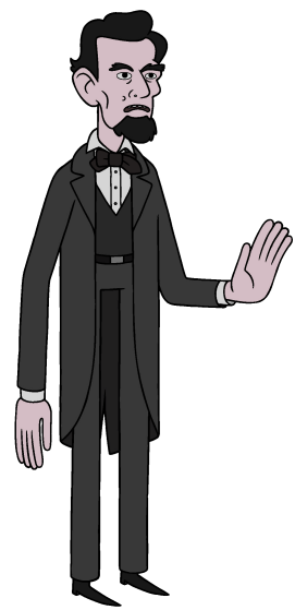 Abraham Lincoln Adventure Time Wiki Fandom Powered By Wikia