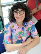 Rebecca Sugar at San Diego Comic-con 2018