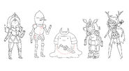 Come Along with Me character designs by Andy Ristaino (9)