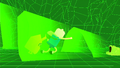 S2e16 Jake pushing Finn toward Sleepy Sam.png