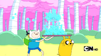 S2e15 finn and jake carrying bubbles