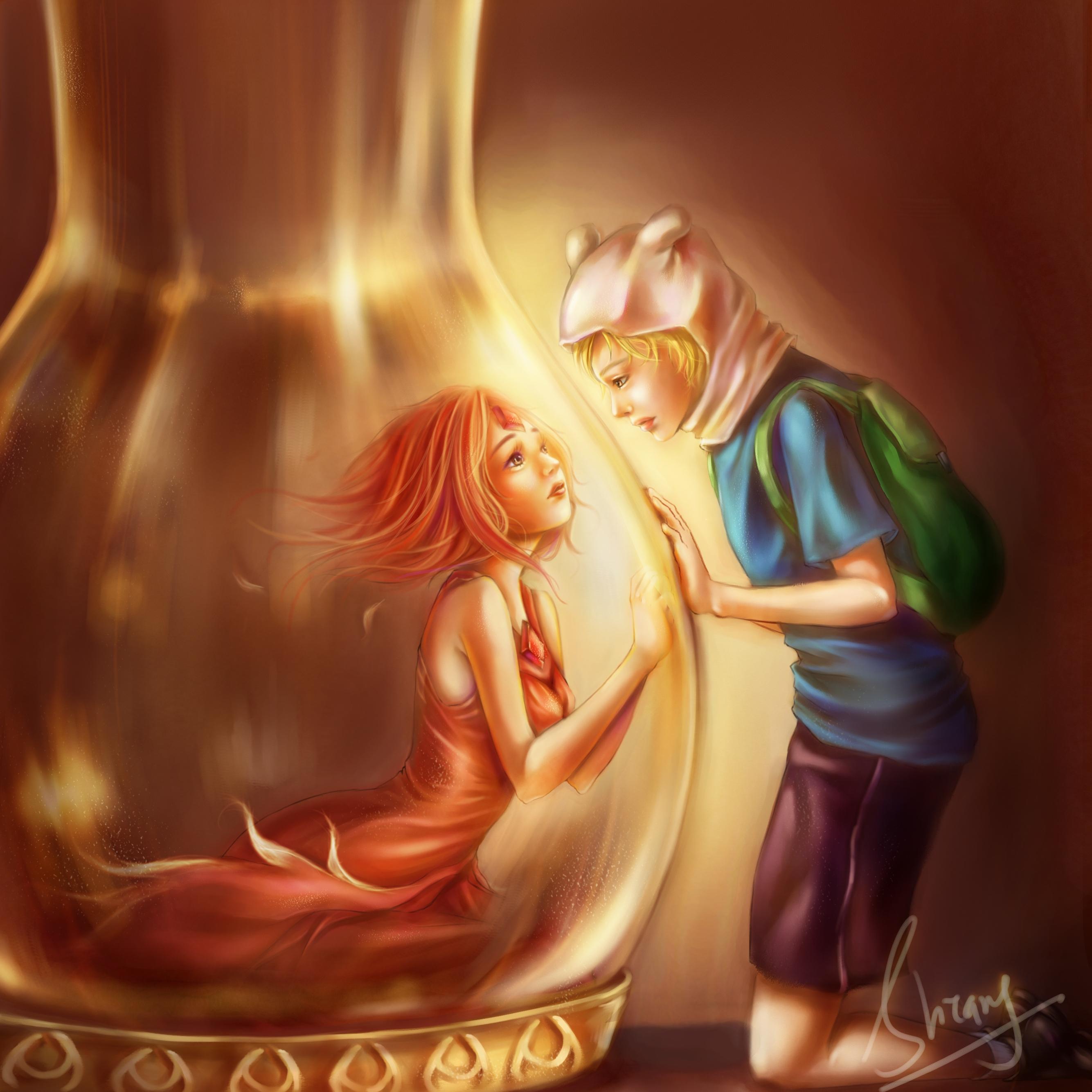 When does finn start dating flame princess