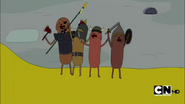 S2e22 Hot Dog Knights on Jake