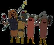 Hot Dog Knights Group
