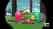 S2e23 candy people picnicking
