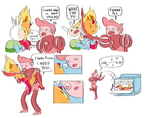 In mah oven