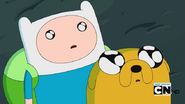 S4e10 Finn and Jake see Goliad