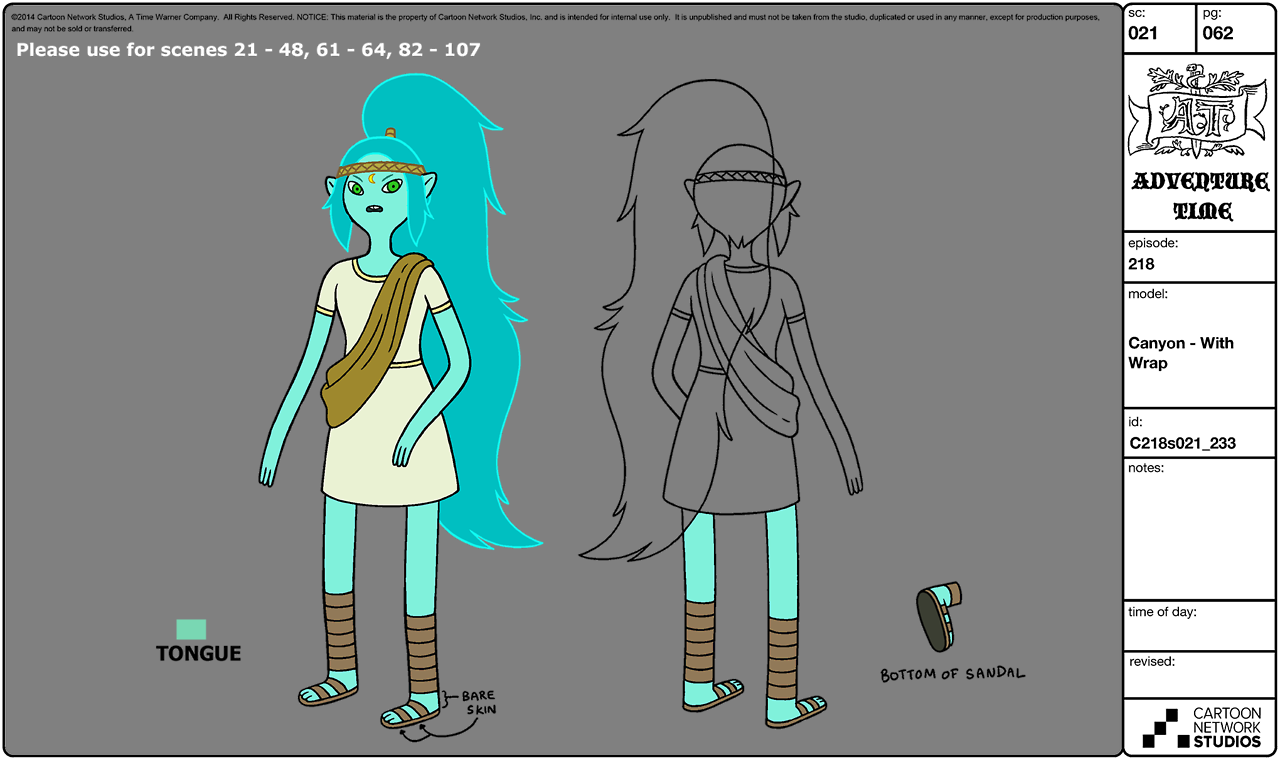 Cartoon Network Character Designer Salary : Image s e canyon modelsheet adventure time wiki