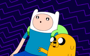 S4e21 Finn and Jake dreaming