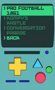 Current BMO app games menu