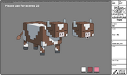Modelsheet Cow Mc