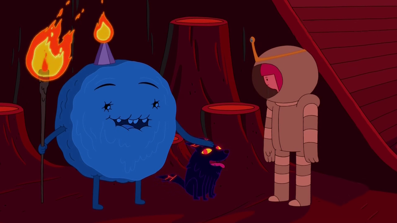 Adventure time is flame princess dating cinnamon bun