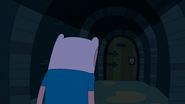S3e15 Finn approaching door