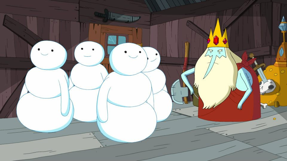 Snow men adventure time wiki fandom powered by wikia
