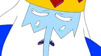 Ice King crying