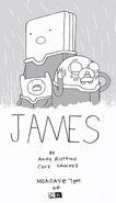 James episode promo art