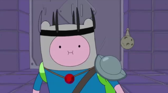 File:S5 e36 Finn in a pointy black crown and ruby.PNG