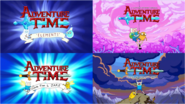 Adventure Time intro comparison