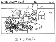 Son of Rap Bear storyboard panel