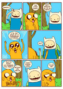 Adventure time comic page 13