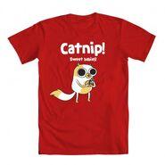 Catnip red shirt