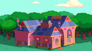 S10e2 Tree Trunks' house