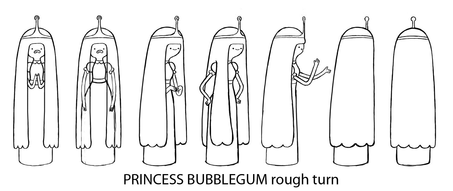 Adventure Time Coloring Pages Princess Bubblegum lots of colouring ...