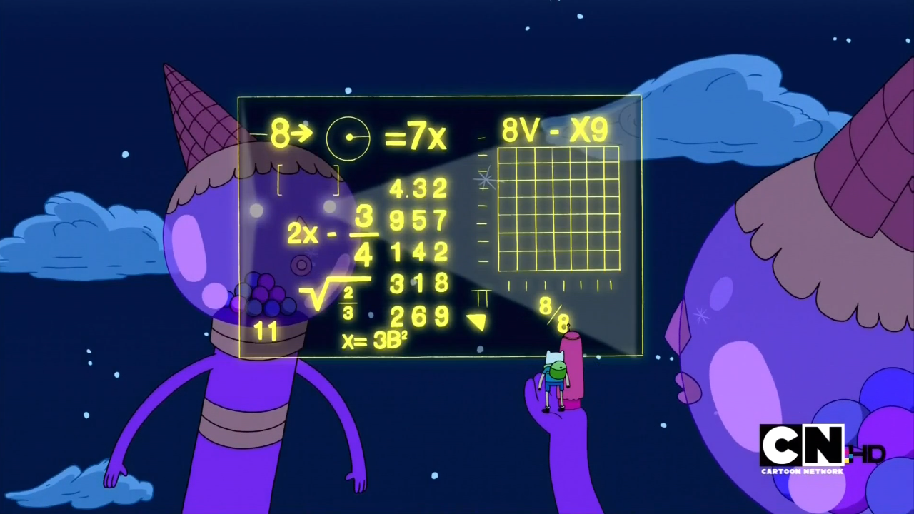 Image - S1e1 difficult math problem.png | Adventure Time Wiki ...