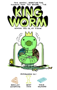 King Worm promo art