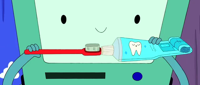 File:S4e2 BMO with toothpaste and brush.png