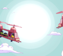 Candy helicopter