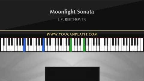 Beethoven - Moonlight Sonata Advanced Piano Tutorial