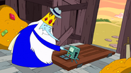 S10e2 Ice King and BMO shaking hands