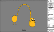Modelsheet Jake as a Jump Rope
