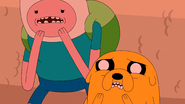 S5e38 Finn and Jake scared