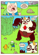 Adventure time comic page 1