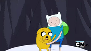 S2e17 Finn and Jake looking down