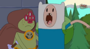 S5 e36 Finn yelling in pain
