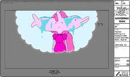 Modelsheet princessbubblegum innightgown withdolphinheadwithwater - special